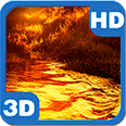 Autumn River Glitter Beams Android Personalization 3D Live Wallpaper download from piedlove.com