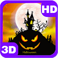 Bats House on Haunted Hill Android Personalization 3D Live Wallpaper download from piedlove.com
