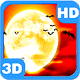Magnificent Halloween Moon Android Personalization 3D Live Wallpaper download from piedlove.com