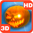 Mysterious Pumpkin Lightnings Android Personalization 3D Live Wallpaper download from piedlove.com