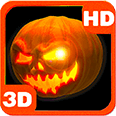Mysterious Scary 3D Pumpkin Android Personalization 3D Live Wallpaper download from piedlove.com