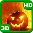 Sparkling Magic Pumpkin Blazes Android Personalization 3D Live Wallpaper download from piedlove.com