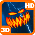 Storm Lightning Pumpkins Hover Android Personalization 3D Live Wallpaper download from piedlove.com