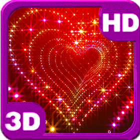 sparkle glitter heart tunnel deluxe