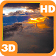 Airplane Clouds Flight Android Personalization 3D Live Wallpaper download from piedlove.com