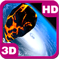 Asteroid Falling Gravity Deluxe HD Edition 3D Live Wallpaper for Android