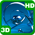 Atomic Chrome Particles Torque Deluxe HD Edition 3D Live Wallpaper