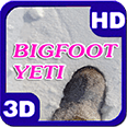Bigfoot Yeti Ice-Crust Drift HD Live Wallpaper for Android OS