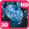 Blinking Diamonds Chic Luxury Deluxe HD Edition 3D Live Wallpaper for Android