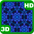 Blue Eye-Colorful Kaleidoscope Deluxe HD Edition 3D Live Wallpaper for Android