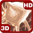 Brain Cell of Human Neurons Deluxe HD Edition 3D Live Wallpaper for Android