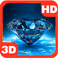 Bright Sparkling King Diamond Deluxe HD Edition 3D Live Wallpaper for Android