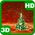 Christmas Tree Snowfield Scenery 3D Android Personalization 3D Live Wallpaper download from piedlove.com