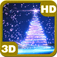 Christmas Tree Glitter Star 3D Android Personalization 3D Live Wallpaper download from piedlove.com