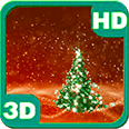 Christmas Tree Snowfield 3D Android Personalization 3D Live Wallpaper download from piedlove.com