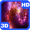 Colorful Nebula Space Flight Deluxe HD Edition 3D Live Wallpaper for Android