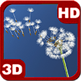 Dandelion Amazing Parachutes Android Personalization 3D Live Wallpaper download from piedlove.com