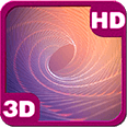 3D DNA Hypnotic Purple Tunnel Free Live Wallpaper