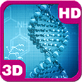 Enigmatic DNA Spinning Strings Deluxe HD Edition 3D Live Wallpaper