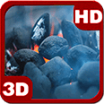 Fireplace Flame Sizzling Coal Deluxe HD Edition 3D Live Wallpaper for Android