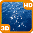 Floating Blue Sea Reflection Android Personalization 3D Live Wallpaper download from piedlove.com
