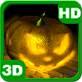 Funny Pumpkins Crush Android Personalization 3D Live Wallpaper download from piedlove.com