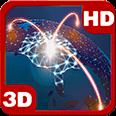 Futuristic Network Globe Android Personalization 3D Live Wallpaper download from piedlove.com