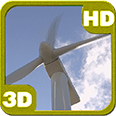 Amazing Sky Windmill Android Personalization 3D Live Wallpaper download from piedlove.com