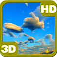Evening Clouds Android Personalization 3D Live Wallpaper download from piedlove.com