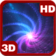 Galaxy Sleeves Vortex Android Personalization 3D Live Wallpaper download from piedlove.com