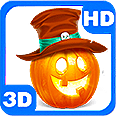 Spooky Scary Halloween Pumpkin Themes Deluxe HD Edition 3D Live Wallpaper for Android