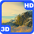 Ice Mountains Amazing Clouds Deluxe HD Edition 3D Live Wallpaper