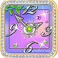 Jewelry Sparkling Watch Faces Free Edition Square and Round Floral