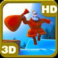 Jumping Santa Christmas Gifts Deluxe HD Edition Live Wallpaper