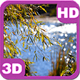 Lake View Summer Willow Deluxe HD Edition 3D Live Wallpaper for Android
