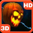 Lightning Halloween Pumpkin Android Personalization 3D Live Wallpaper download from piedlove.com