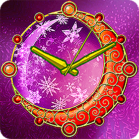 Magic Star Watch Face by 7art Studio for #XMas #Christmas