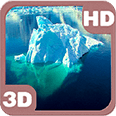 Magnificent Iceberg Power Deluxe HD Edition 3D Live Wallpaper for Android