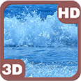 Mesmerizing Wavy Ocean Deluxe HD Edition 3D Live Wallpaper