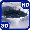 Meteorite Icy Hollow Crater Android Personalization 3D Live Wallpaper download from piedlove.com