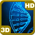 Mysterious DNA Strand Double Helix 3D Android Live Wallpaper