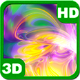Mysterious Plasma Kaleidoscope Deluxe HD Edition 3D Live Wallpaper