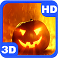 Mysterious Pumpkin Glow Flame Deluxe HD Edition 3D Live Wallpaper for Android
