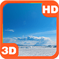 North Ice and Clouds Wind Deluxe HD Edition 3D Live Wallpaper
