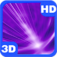 Northern Violet Stunning Light Deluxe HD Edition 3D Live Wallpaper for Android