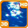 Ocean Surface Sunrays Dance Android Personalization 3D Live Wallpaper download from piedlove.com