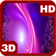 Pink Bloom Floral Fall Deluxe HD Edition 3D Live Wallpaper for Android