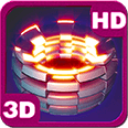 Power Shape Flare 3D Unit Deluxe HD Edition Live Wallpaper for Android