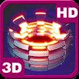 Power Shape Flare 3D Unit Deluxe HD Edition Live Wallpaper