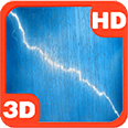Rainy Lightning Sky Grand Storm Android Personalization 3D Live Wallpaper download from piedlove.com